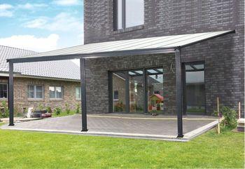 Wasserdichte Aluminium Einstellbare Lamellen Dach Terrasse Abdeckung