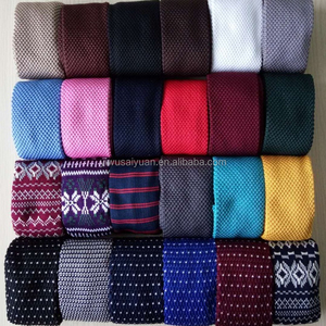 2018 New Custom & Wholesale Fashion Knitted Necktie Wool Tie