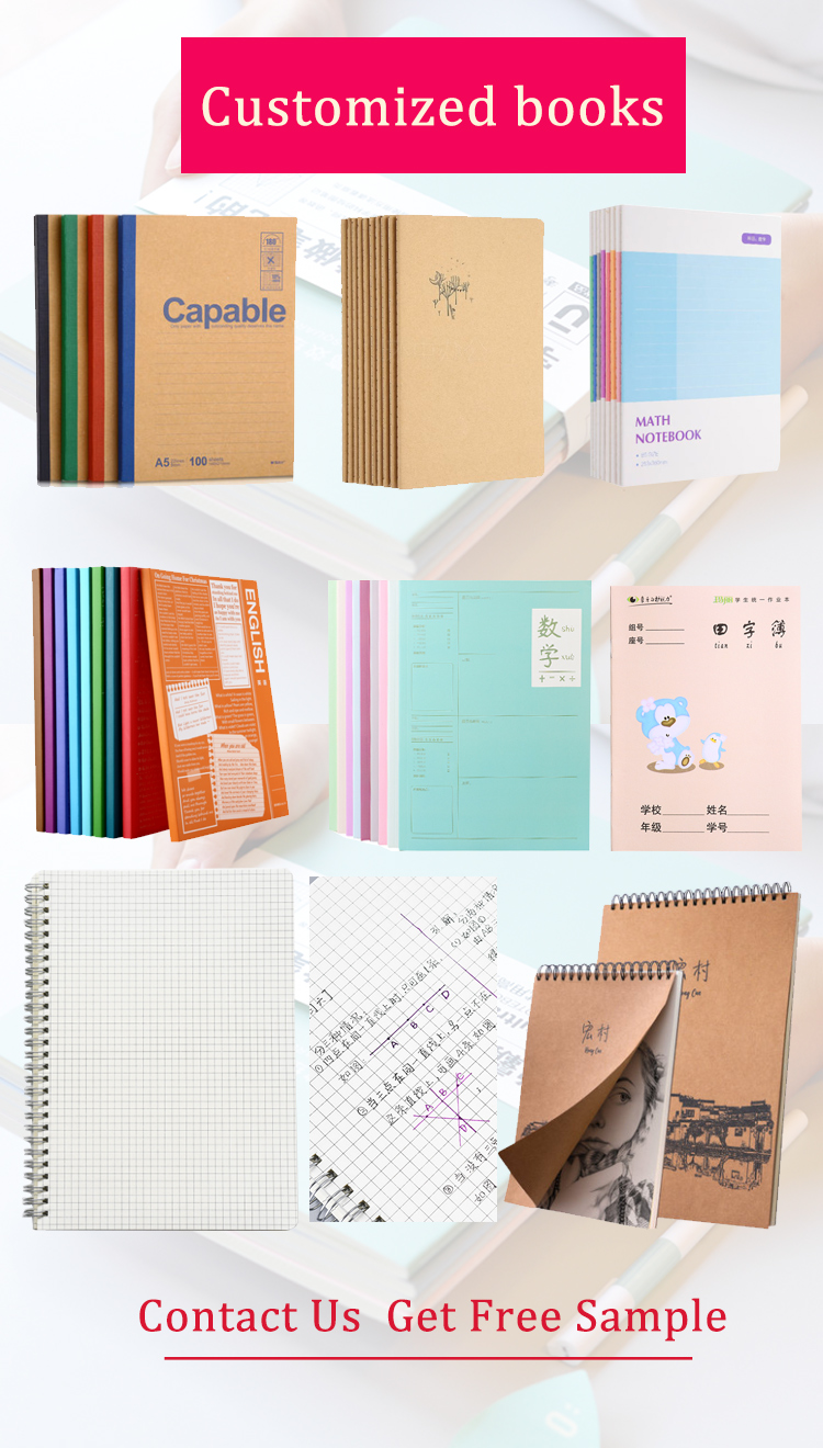 High Quality new design cheap price customized PU leather note book office stationery