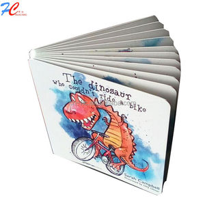 Hard Cover English Children board Story Book,China factory printing board puzzle story books for children