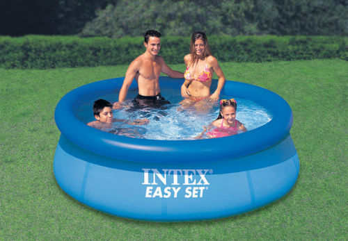 8 39 x 30 easy set inflatable above ground swimming pool - Inflatable quick set swimming pool ...