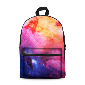 Galaxy Fashion design canvas backpack wholesale for girls and boys bag pack  for school f281ebf07526