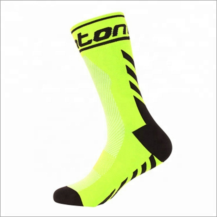 Manufacture private label coolmax athletic race wear custom sublimated cycling socks, Custom color