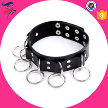 Sexy Faux Leather sexy Sex Collar and Leash Erotic Toys,Feitsh Slave Collar for Adult Game,Neck Collar Sex Products