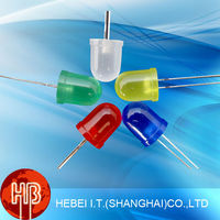 105MR2D Red Round 10mm Diode Diffused Led