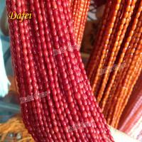 Wholesale Natural Bamboo Coral Rice Beads