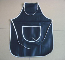 dark blue Plastic lead apron made in China