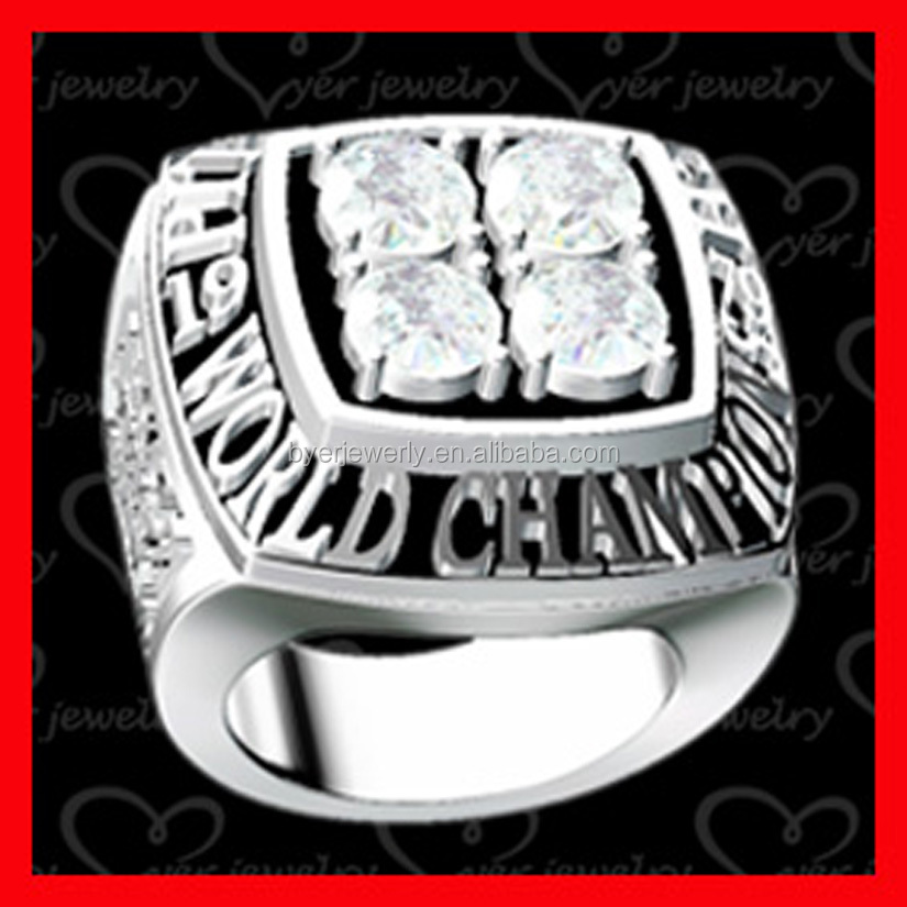 custom 3d championship ring design made by BYER professional designer