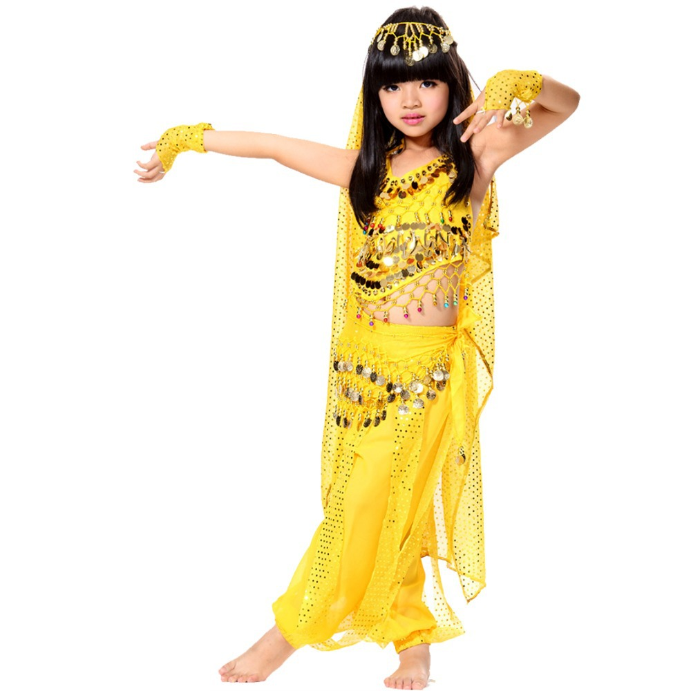 Egyptian Belly Dance Costumes For Kids
