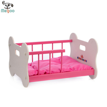 Modern Home Designed Wooden Dog Bed Folding Pet Dog Bed With Cushion