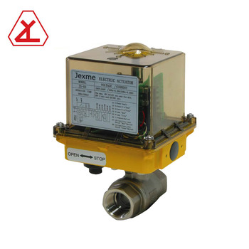 12 Volt Electric Solenoid Valve Actuator With Two Piece Ball