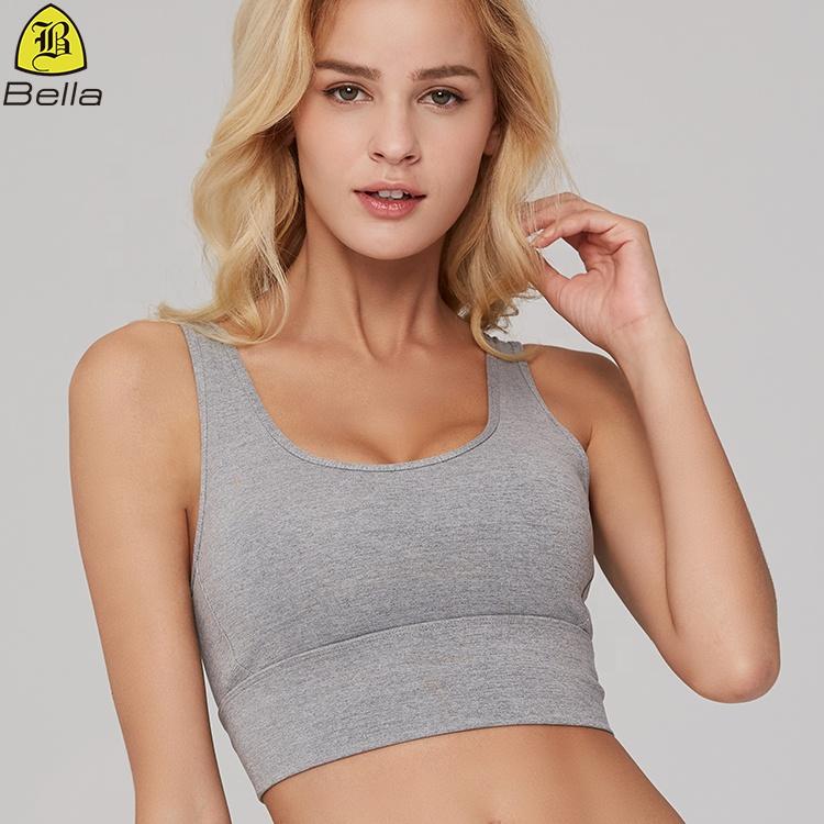 Назад strappy крест сексуальные фитнес топы Йога одежда женский спортивный бюстгальтер тренажерный зал