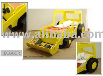 Digger Toy Bed