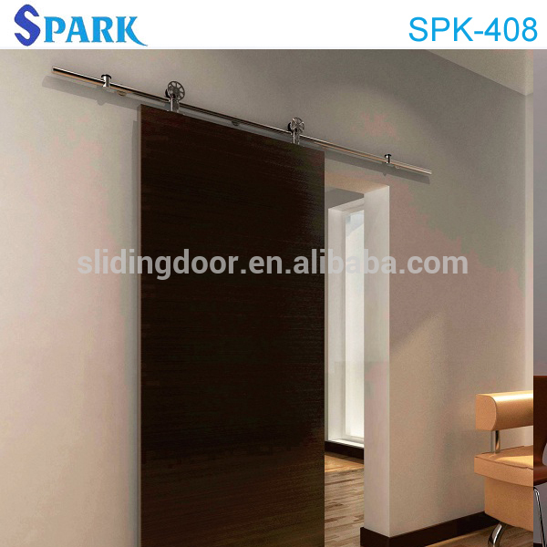 modern furniture Village Garden Style solid wooden sliding closet door