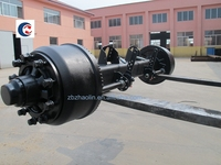 12T German type BPW rear wheel axle and zf axle parts for sale