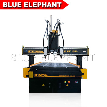 Kitchen Cabinet Door Making Machine,Multi Head Cnc Router Ele1325 ...