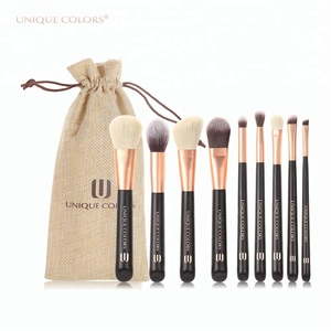 Factory OEM 9piece Makeup Brush Sets Professional High Quality Cosmetic Brush Set For sale