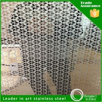 good quality etched stainless steel checkered sheet for kitchen