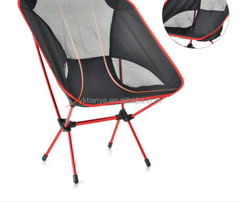 Outdoor Folding Chair Portable Lightweight Moon/aluminum Alloy Fishing  Stool Sketching Leisure Chair Travel Barbecue