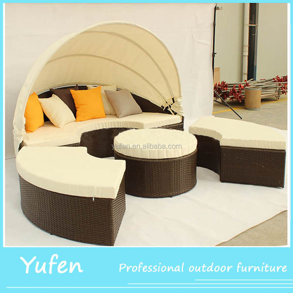 Round Outdoor Bed Round Rattan Outdoor Bed Round Rattan Outdoor Bed Suppliers And