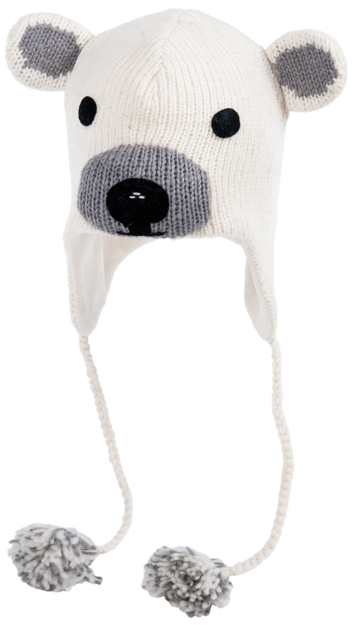 Polar bear hat for adults 1
