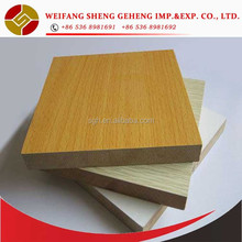 6mm 9mm 12mm18mm 2 sisi LDF melamined MDF <span class=keywords><strong>HDF</strong></span> <span class=keywords><strong>papan</strong></span> harga