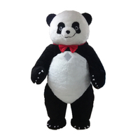 Custom inflatable bear costumes/panda bear costume/inflatable polar bear costume, mascot costume inflatable for outdoor event