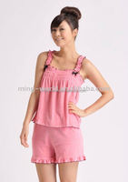 Plain Dyed Cotton Leisure Wear for girls