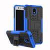 Hyun Pattern Dual Layer Hybrid Armor Kickstand 2 In 1 Shockproof cell phone Case Cover For nokia 2
