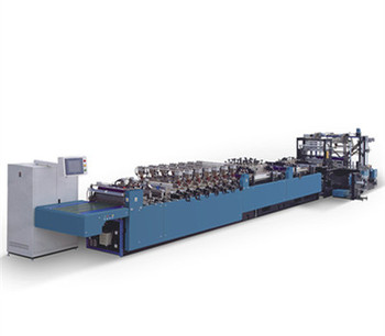 Paper plastic bag making machine