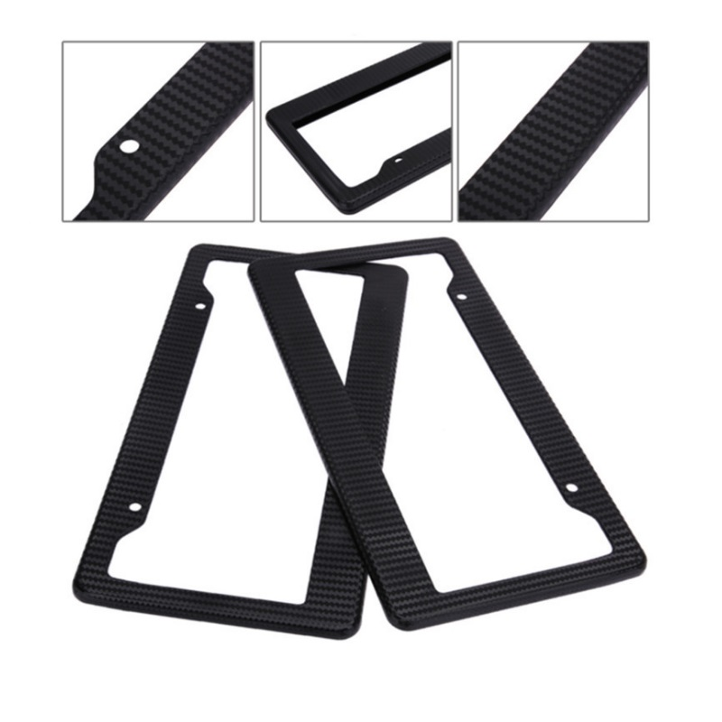 Universal Fit Rear Front Nummerplaat Frame Met Schroef Kits