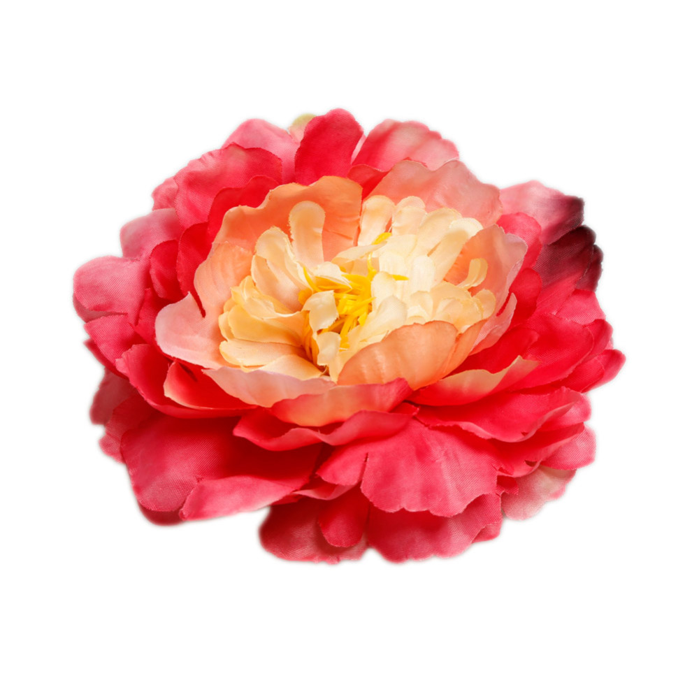 Buy 12cm Artificial Diy Peony Large Peony Silk Flower Hat Clothing