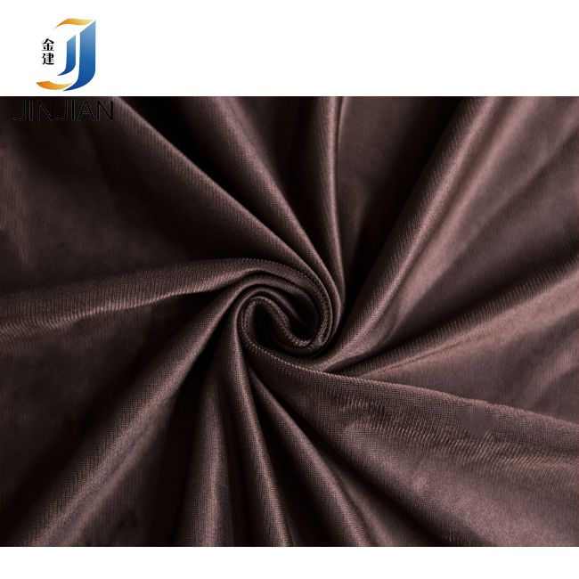 tricot lining fabric brushed velvet fabric fabric for safety vests 100GSM-250GSM