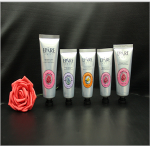 Soft aluminum cosmetic packing tubes container PE facial cream tube for sale