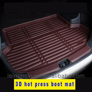 White universal black car mat set aluminum unique all weather floor mats For Croslinkable Emulsion Polymers