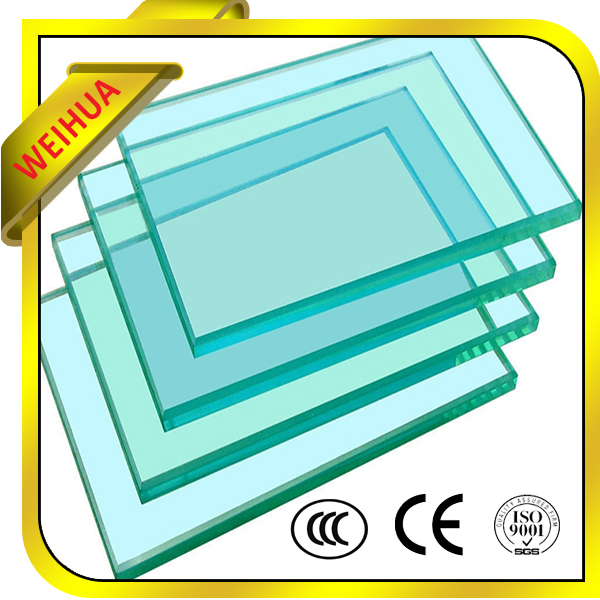 10mm Thick Clear building elevation glass For Building With CE Certificate