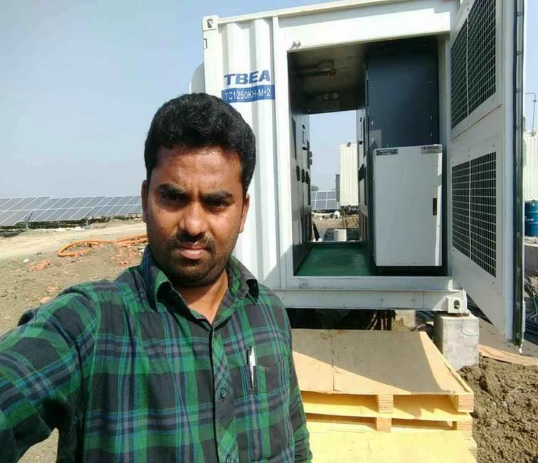 1MW 2.5MW 5MW high efficiency on grid solar central inverter application for solar power system