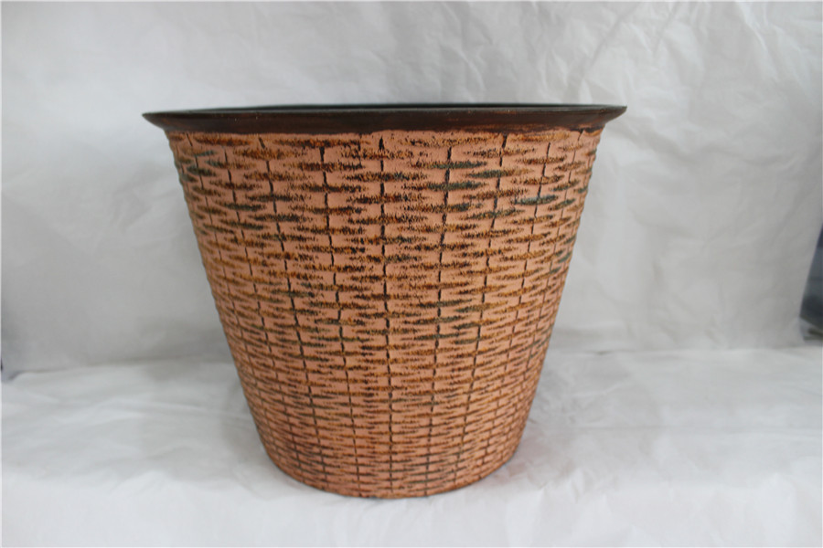 fuzhou Garden rattan PP plant Flowerpot Mould Injection plastic pot