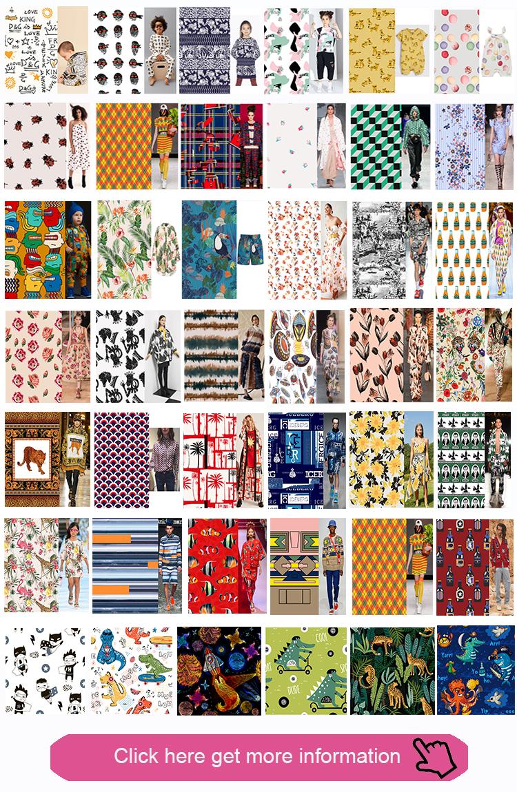 Fonesun-RW562 Custom Print Wool Fabric