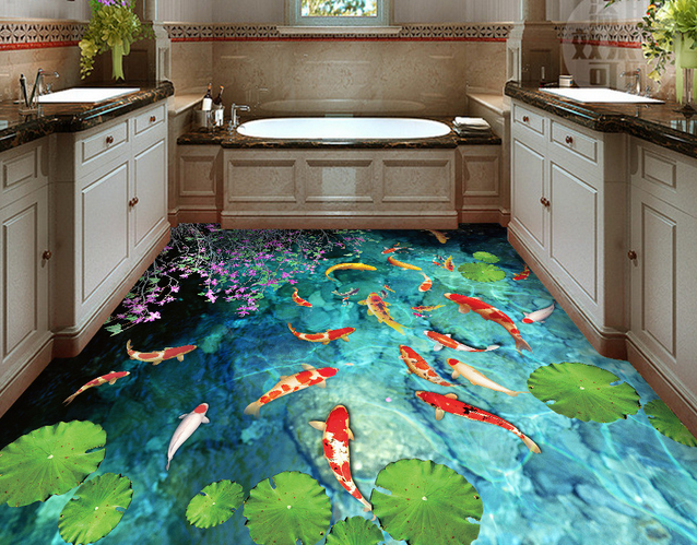 3d Ceramic Floor Tile Fish Designs For Home Decor 3d Flooring Tile