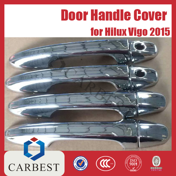 High Quality New ABS Chrome Door Handle Cover for Toyota Hilux Vigo Revo 2015