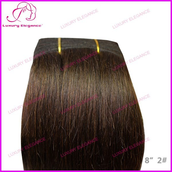 Luxury Elegance 100 Percent Human Hair Extensions China Factory