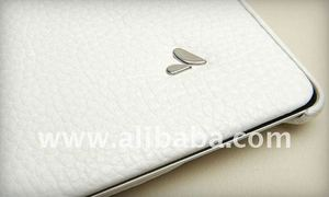 Vaja White Libretto Leather Case for tablet pc