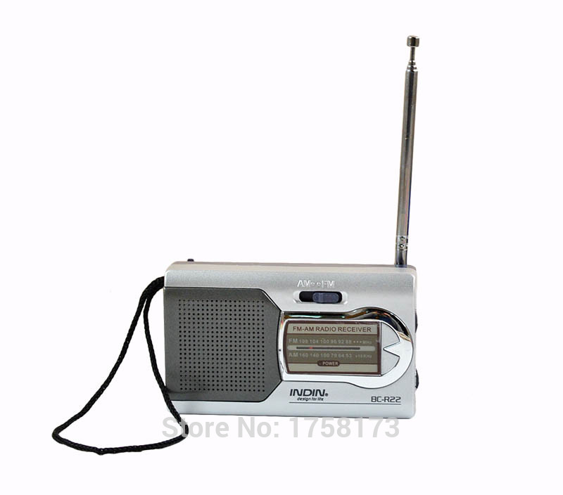 Leisure Entertainment Mini Am Fm Dual Band Broadcast Reception Radios Built in Speaker Strong Antenna Signal Radio Receiver