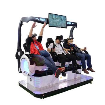 New products 9D Virtual Reality Egg simulator for shopping mall VR Amusement Roller Coaster
