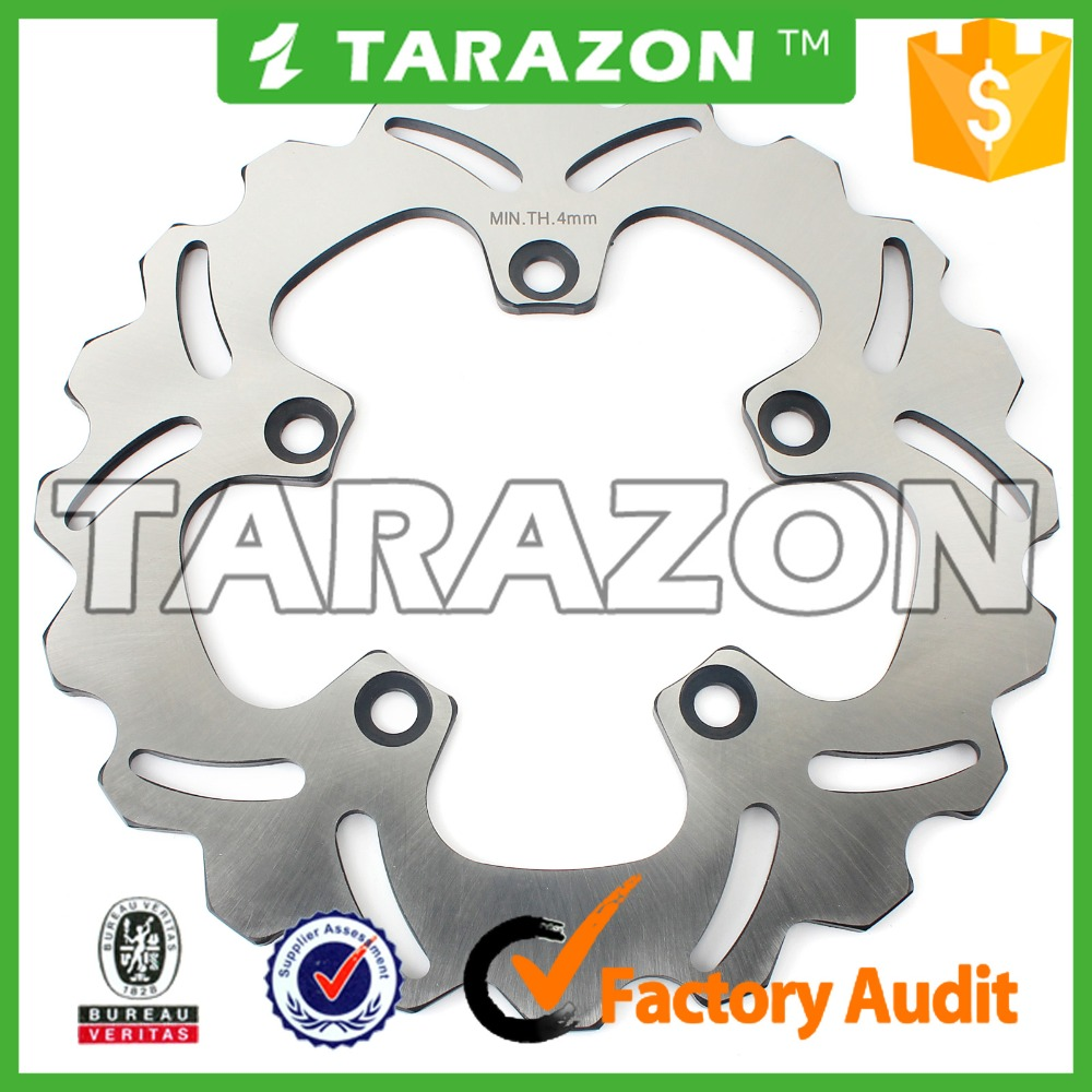 245mm motorcycle rear brake disc rotor for YAMAHA FZ6 FAZER