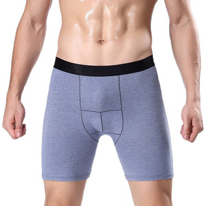 Cotton boxer shorts sport running shorts plus size extra length boxer shorts underwear