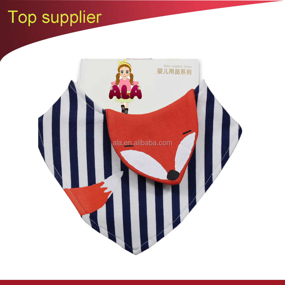 2017 hot selling baby bibs kids neck bandanas