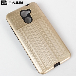free sample brushed pc tpu combo luxury cover for htc u12+ mobile phone case