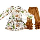 2017 spring clothing of child girls long-sleeved outfits boys kids casual wear fall winter